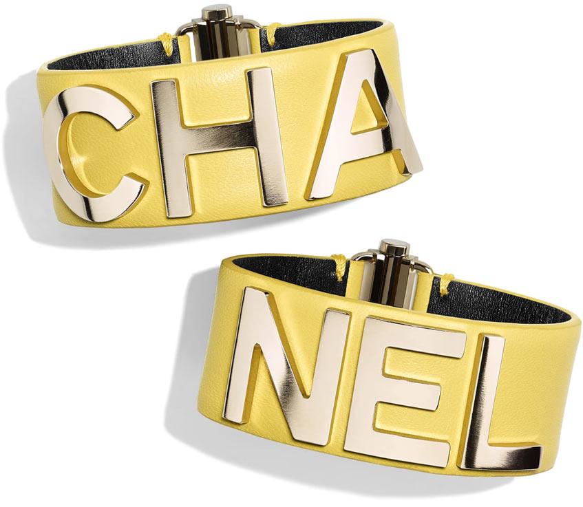 золотой браслет Chanel