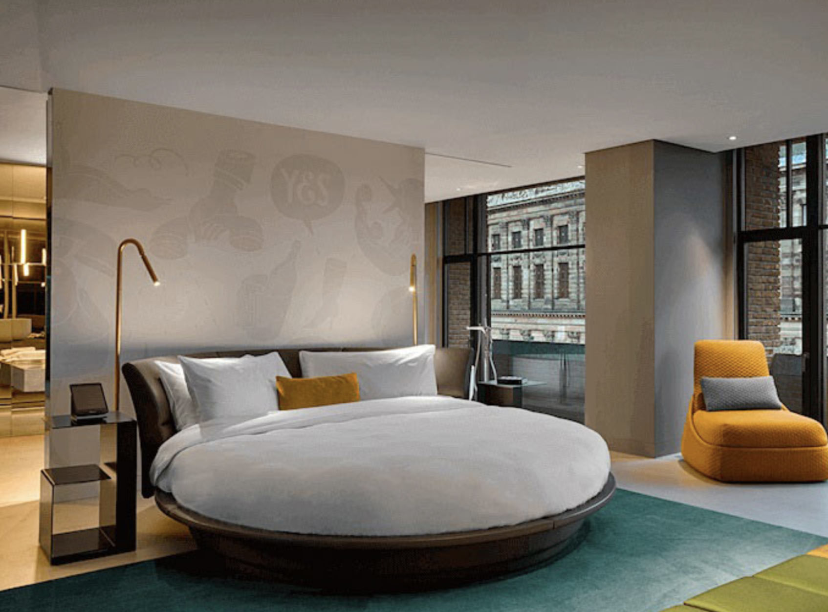 W Amsterdam дизайн отель Амстердам