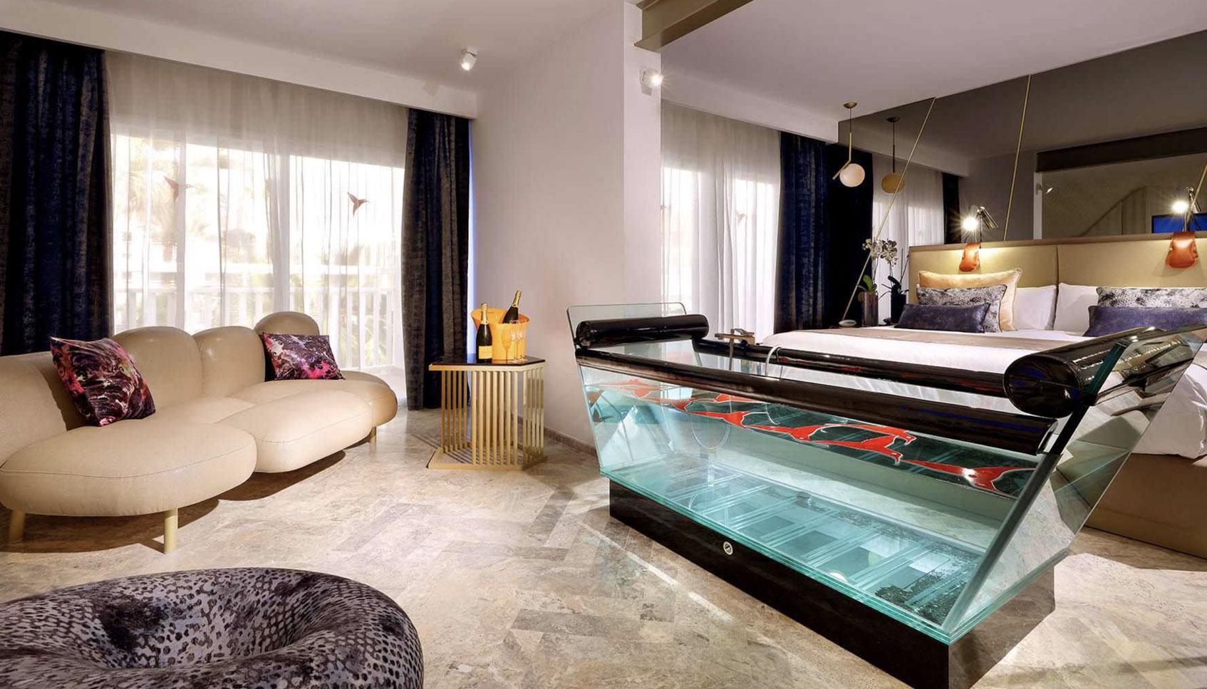 ибица Ushuaïa Ibiza Beach Hotel