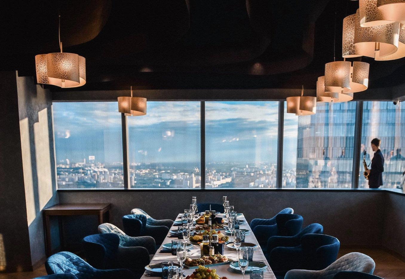 рестораны с панорамным видом на Москву