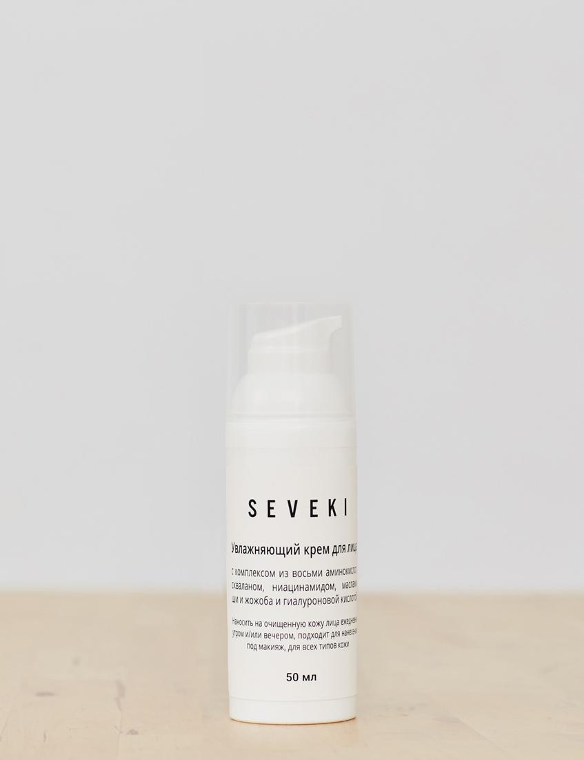 натуральный крем для лица seveki