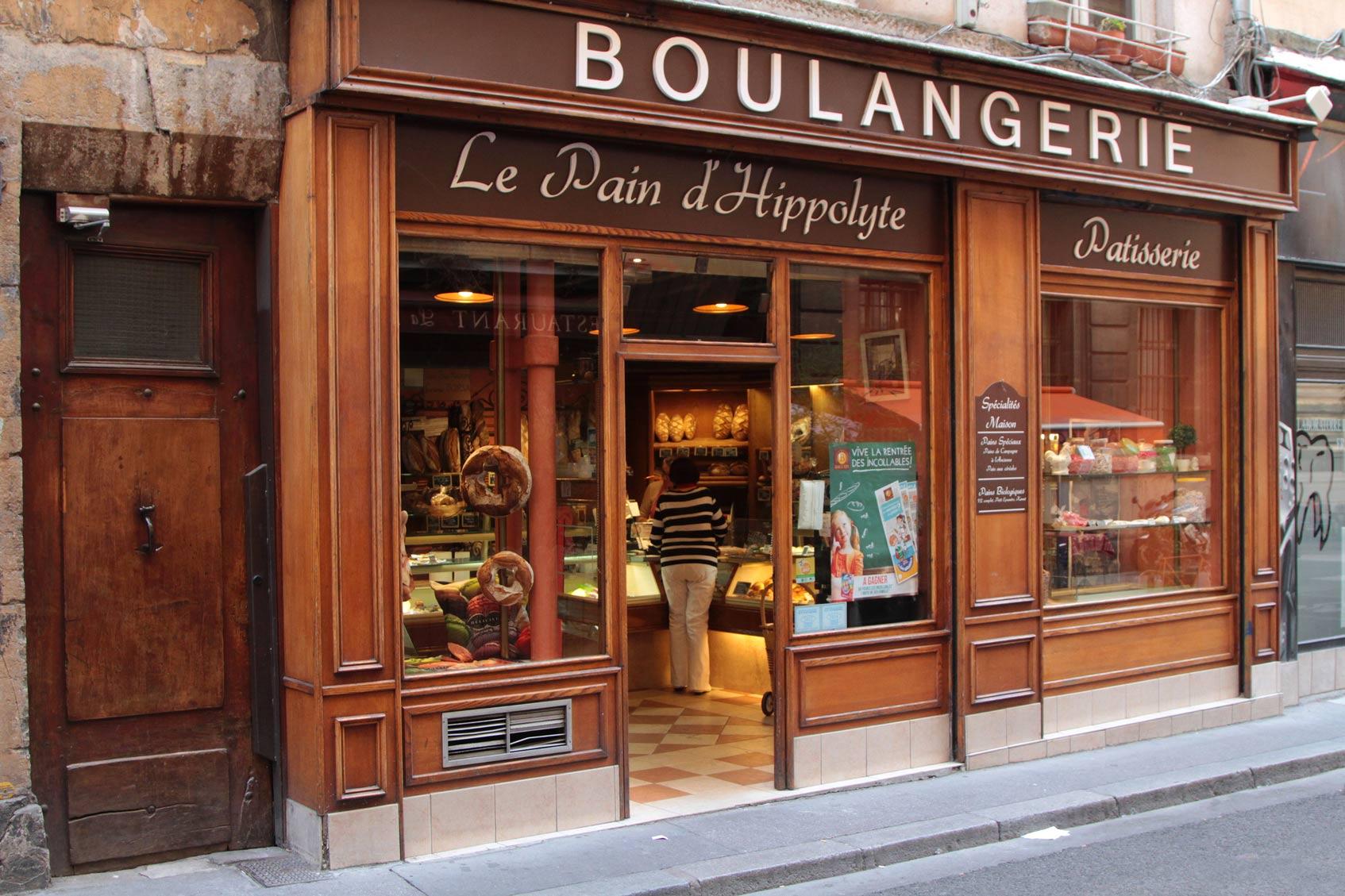французский багет Париж булочная