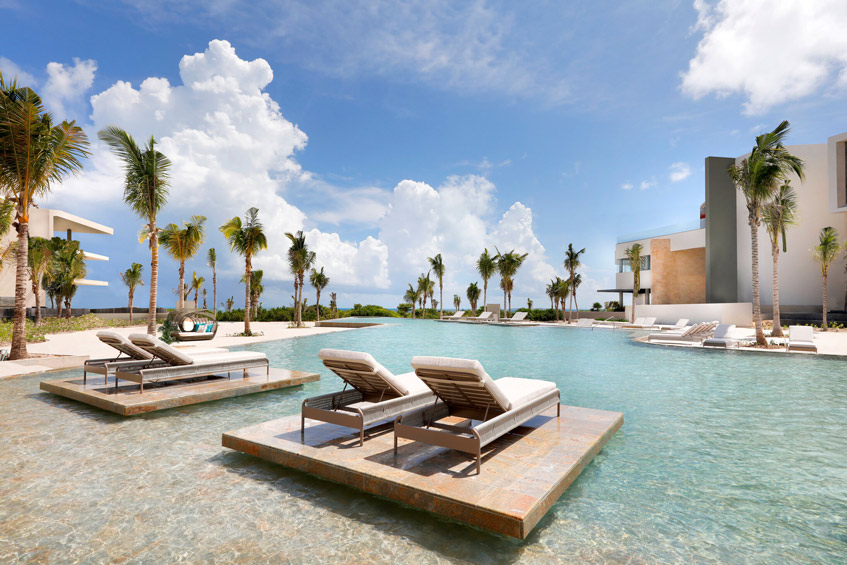 отель TRS Coral Hotel Мексика