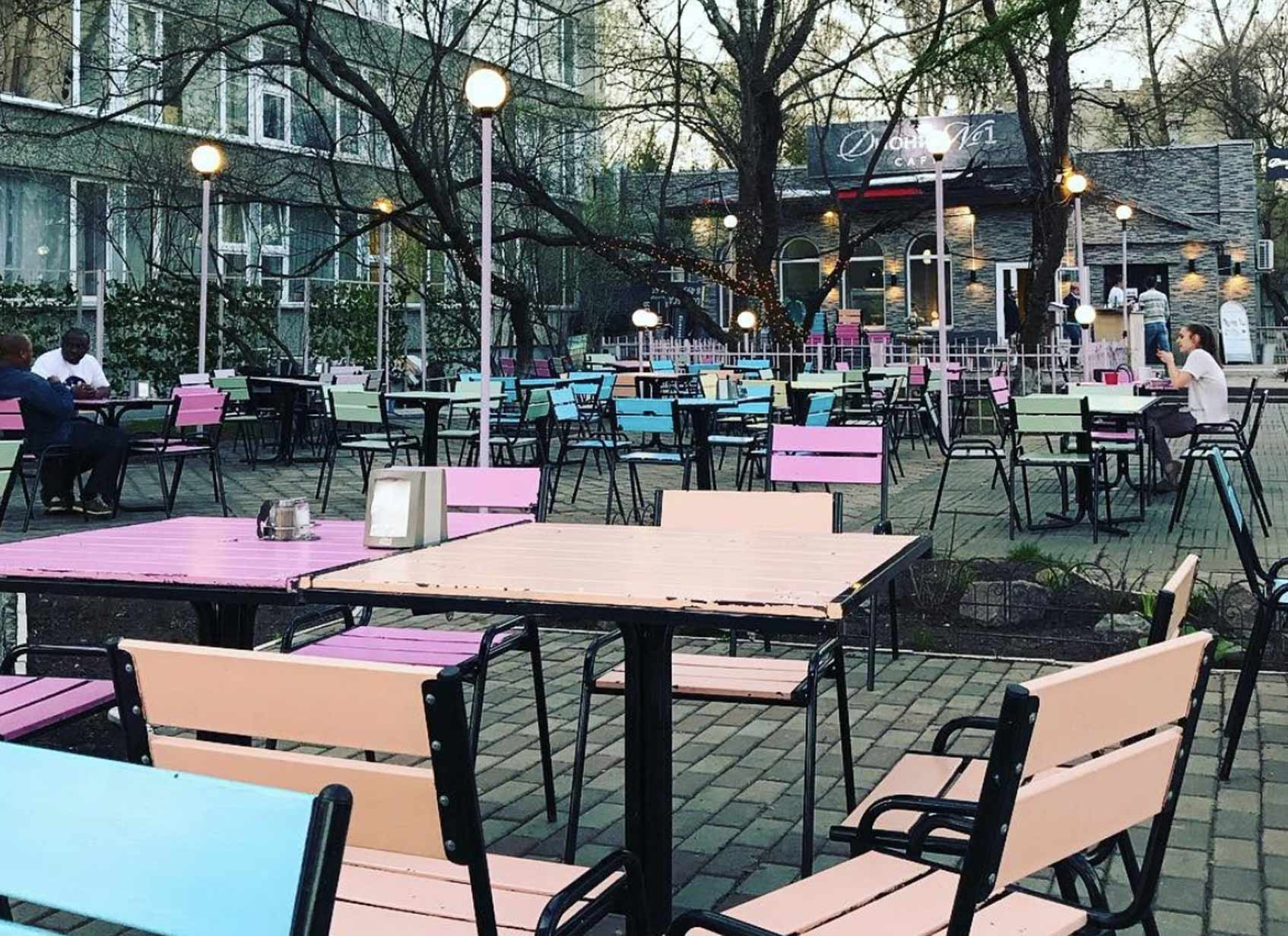 студгородок РУДН кафе рестораны