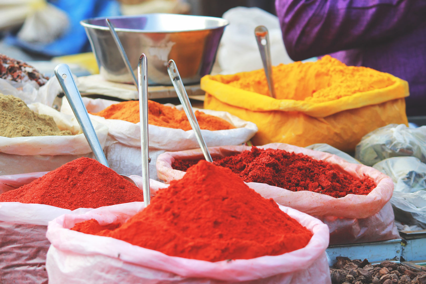 Индийский маркет Delhi базар