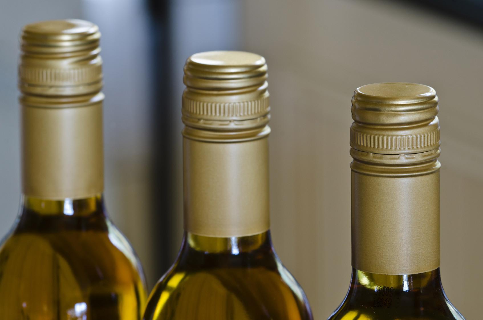 Белое вино с крышкой качество
