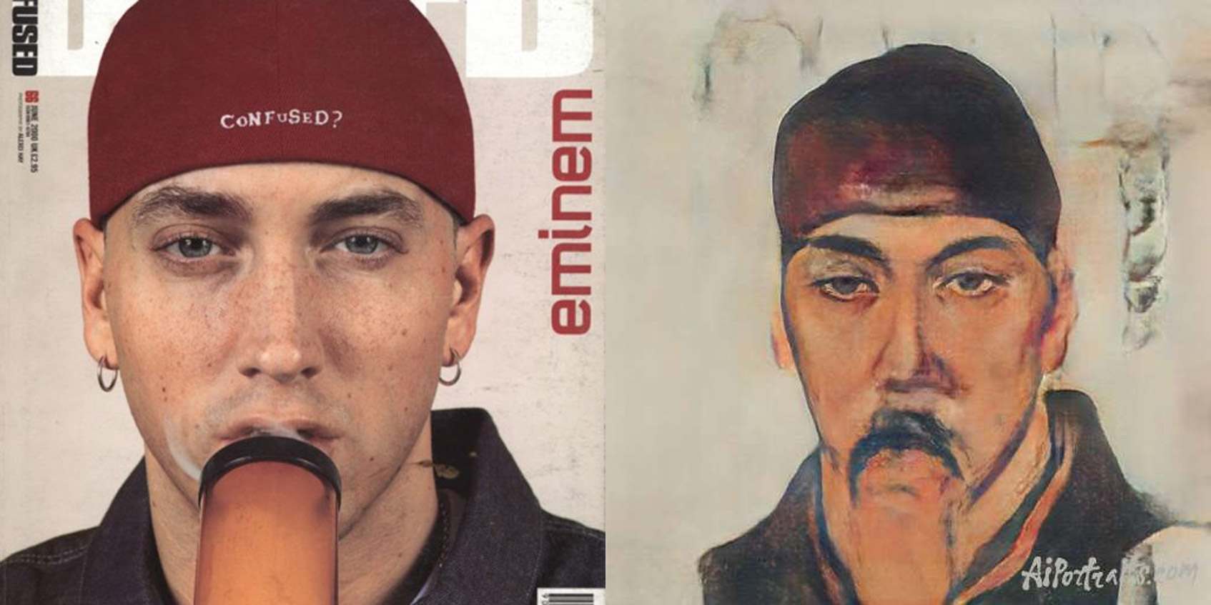 eminem журнал dazed портрет