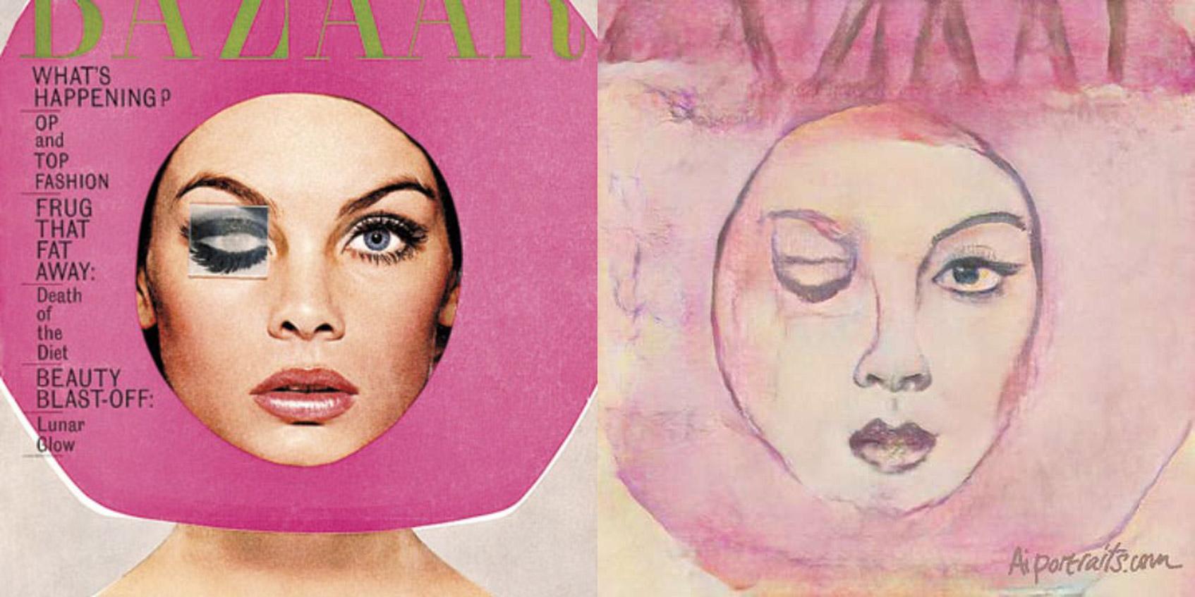Harper's Bazaar обложка архив 1965