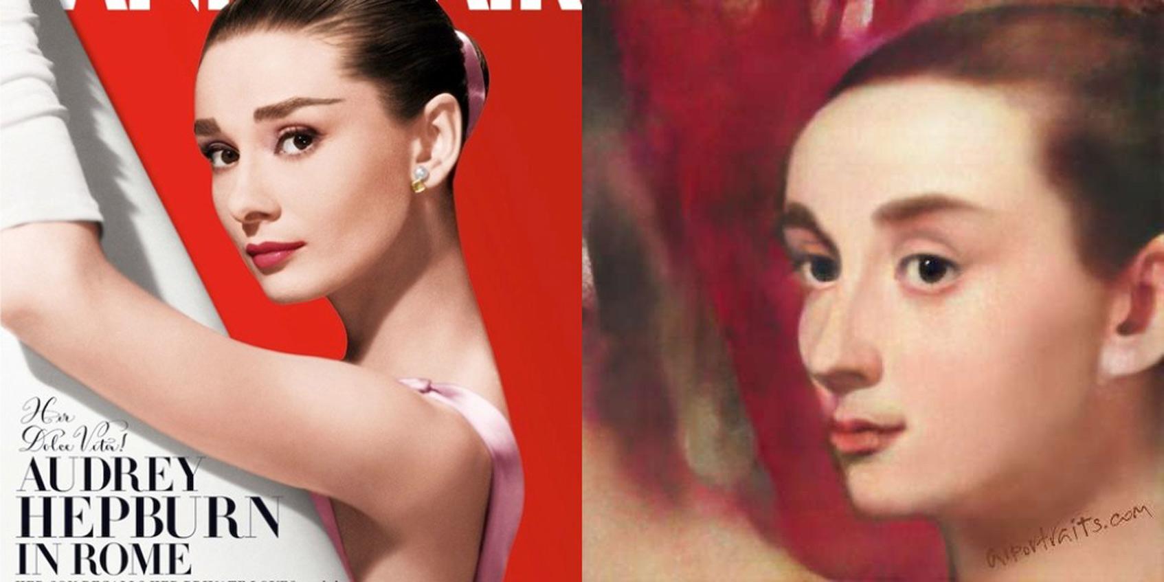 Одри Хепберн Vanity Fair