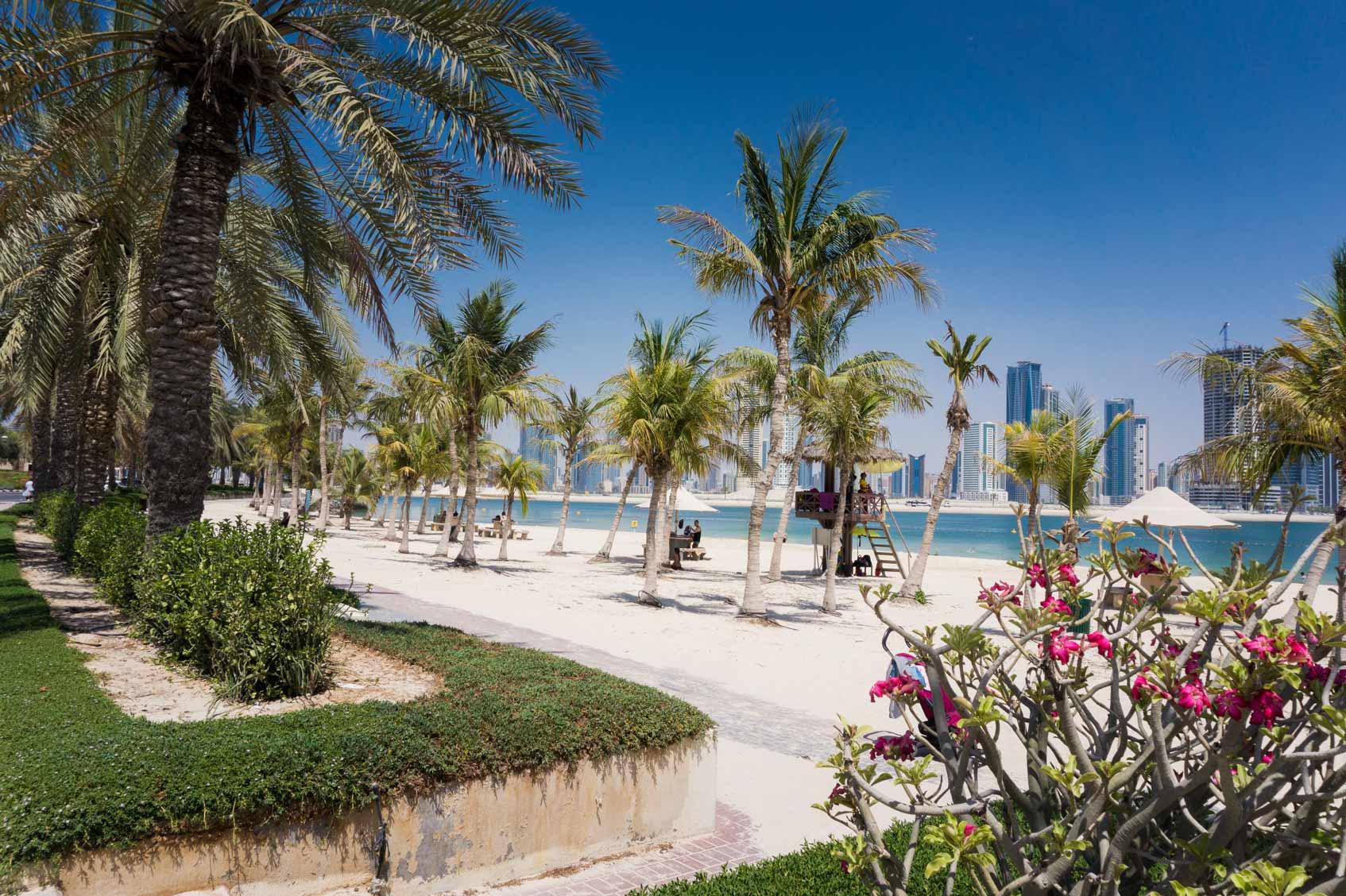 Пляжи Дохи