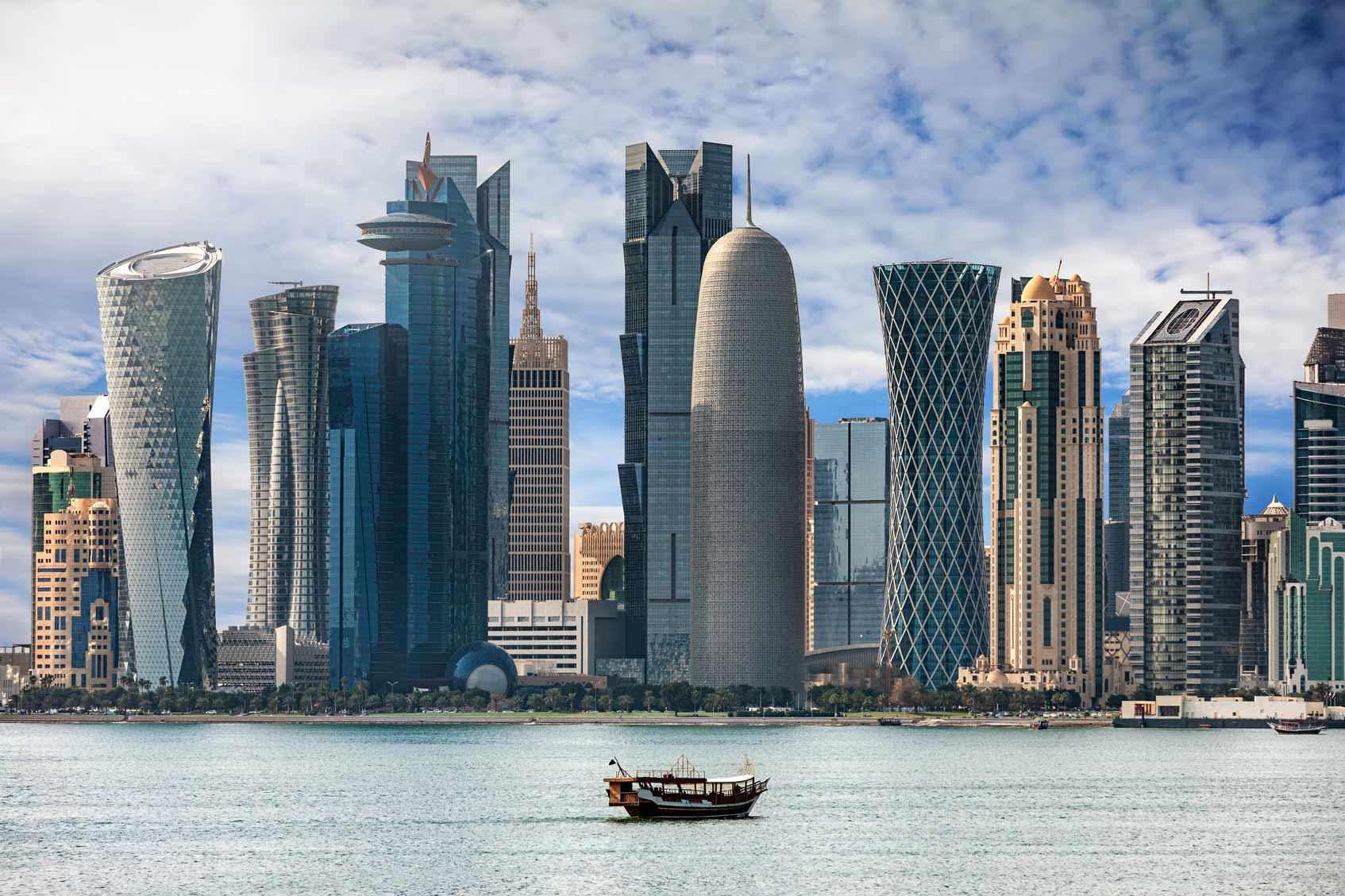 Доха Катар небоскребы