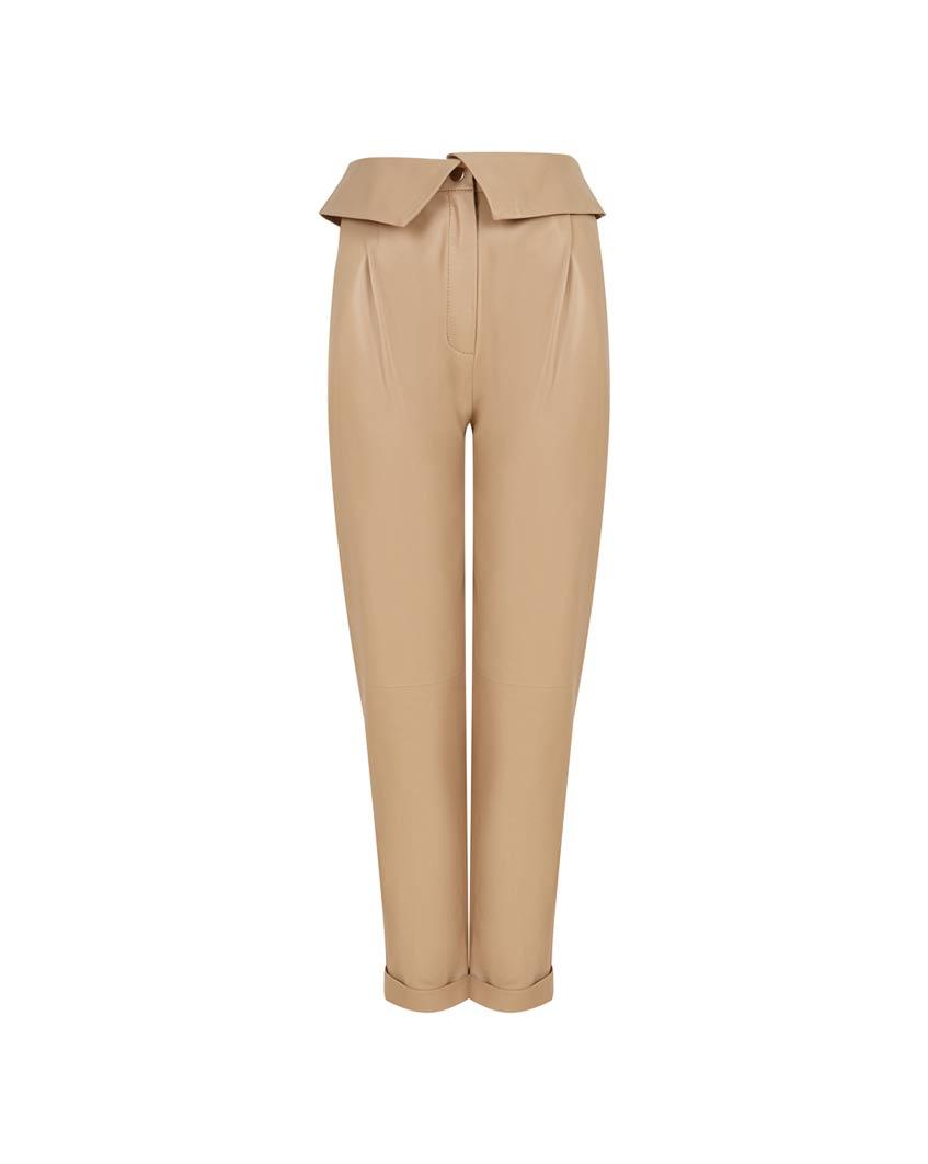 бежевые брюки стретч 12Storeez
