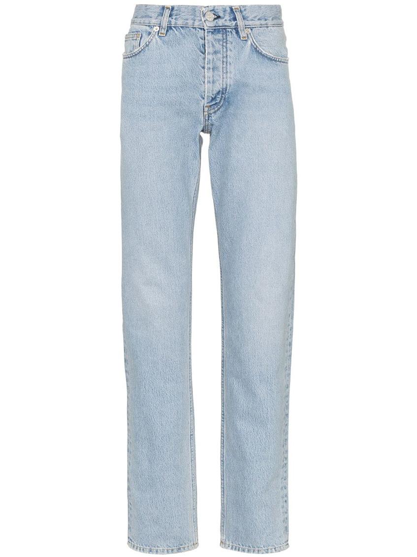 джинсы мужские светло-голубые прямые Sunflower