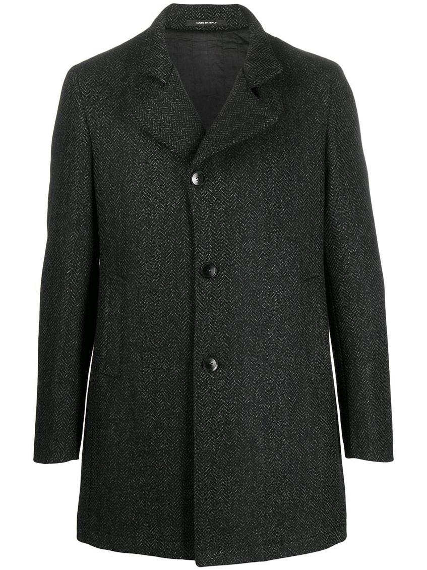 пальто мужское средней длины серое Tagliatore