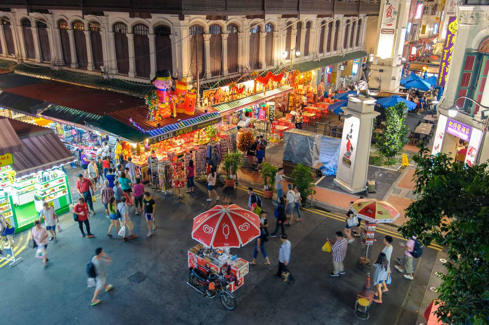 Chinatown Сингапур китайский квартал