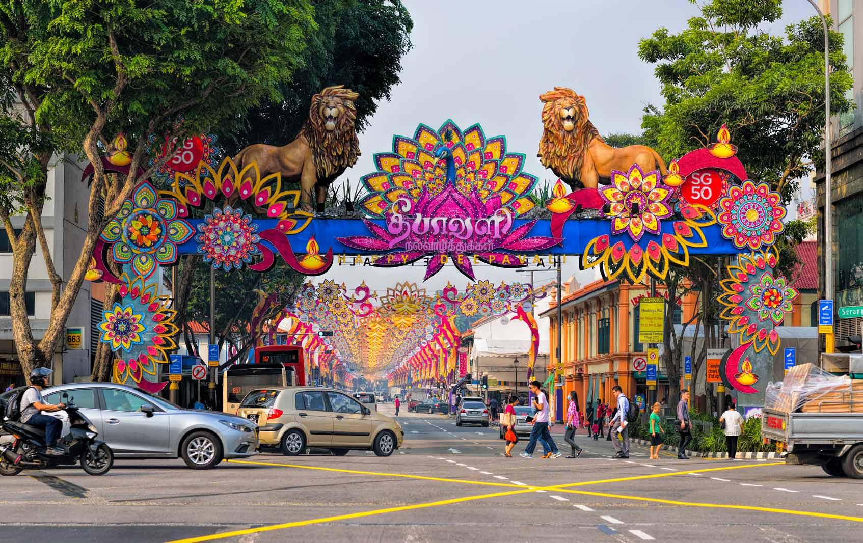 Маленькая Индия Сингапур Little India