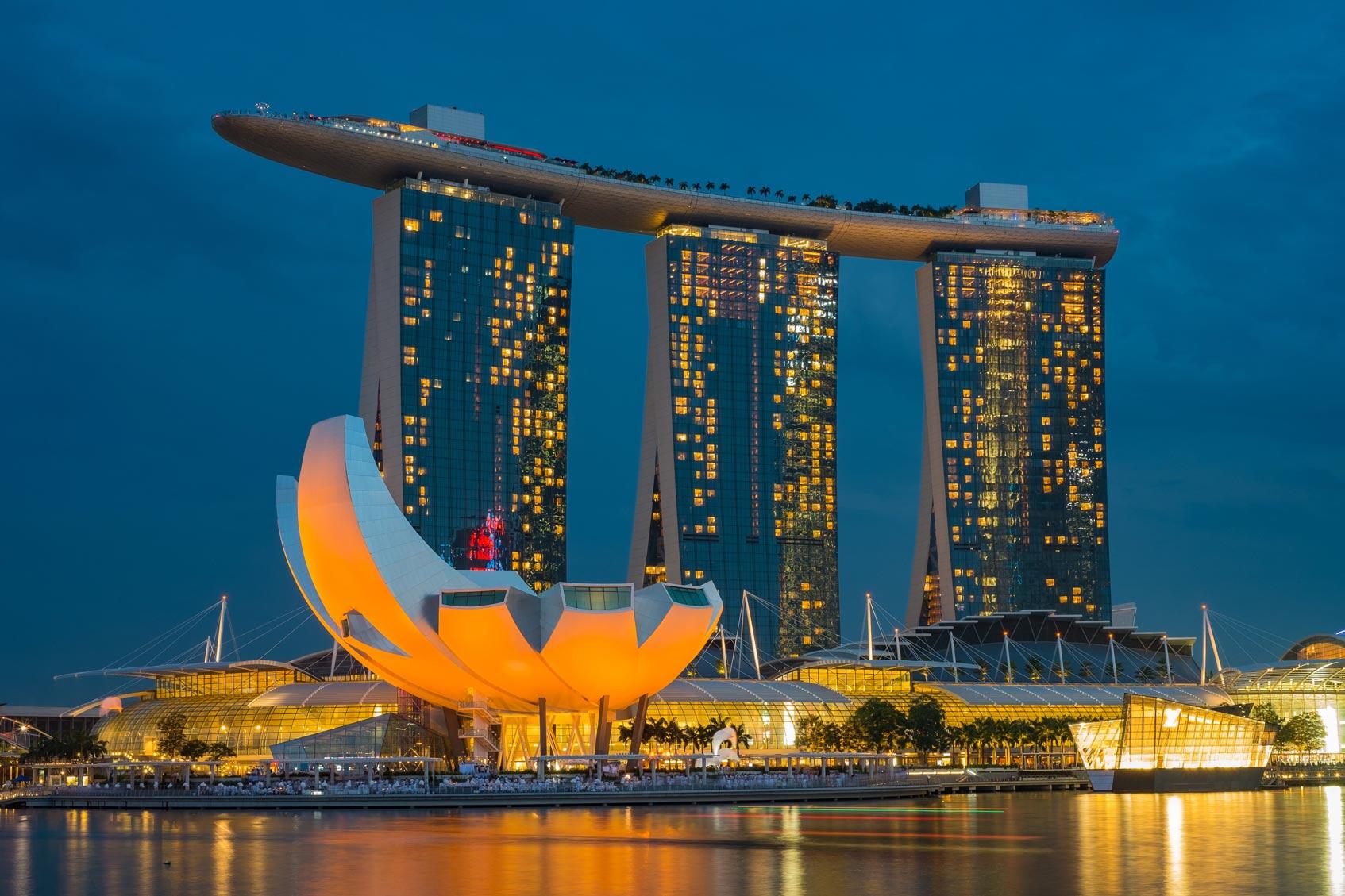 отель Marina Bay Sands Сингапур