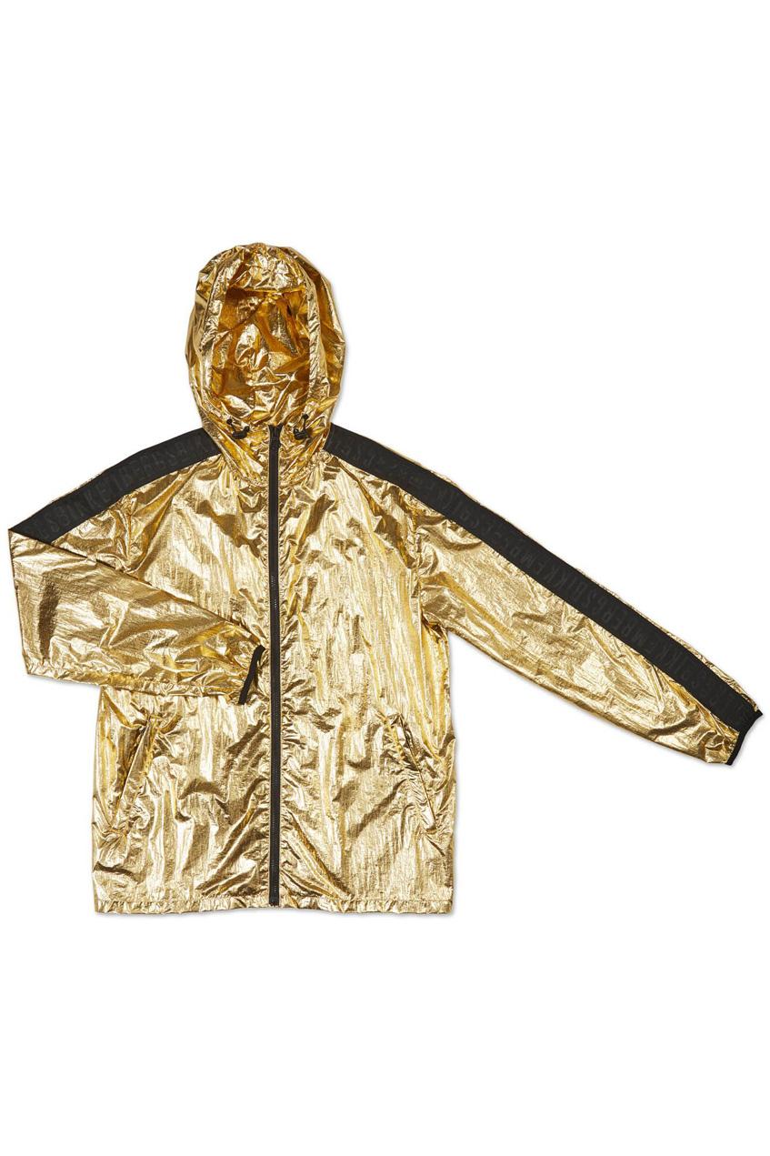 мужская золотая куртка