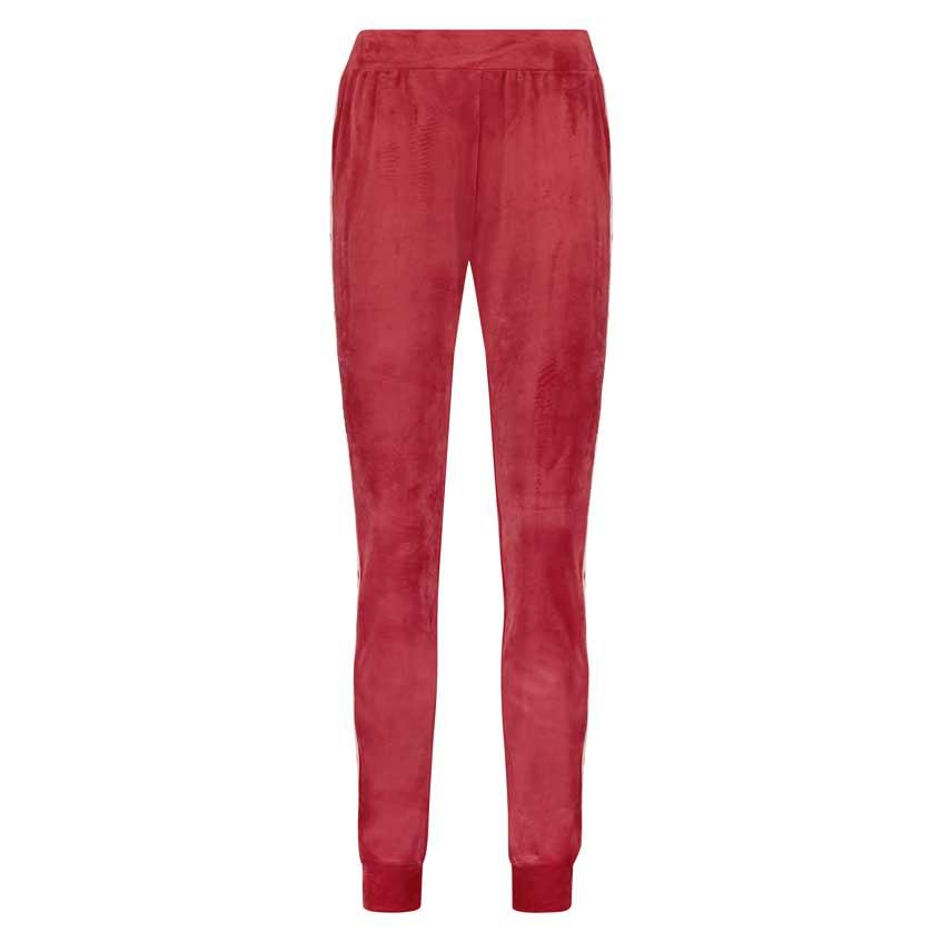 красные женские спортивные штаны