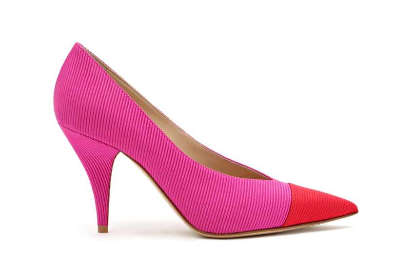 туфли цвета фуксии casadei