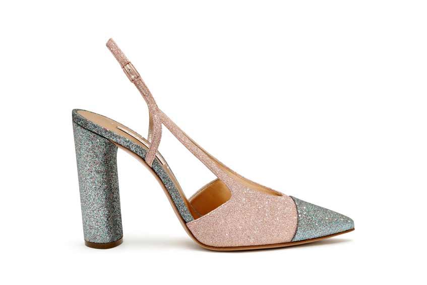 розово-серые туфли casadei