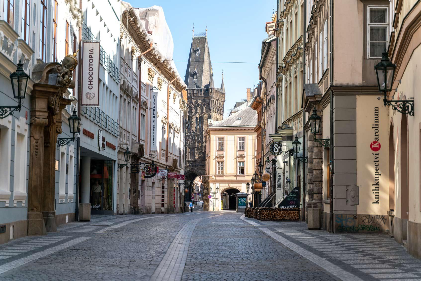 карантин в Праге глазами очевидца