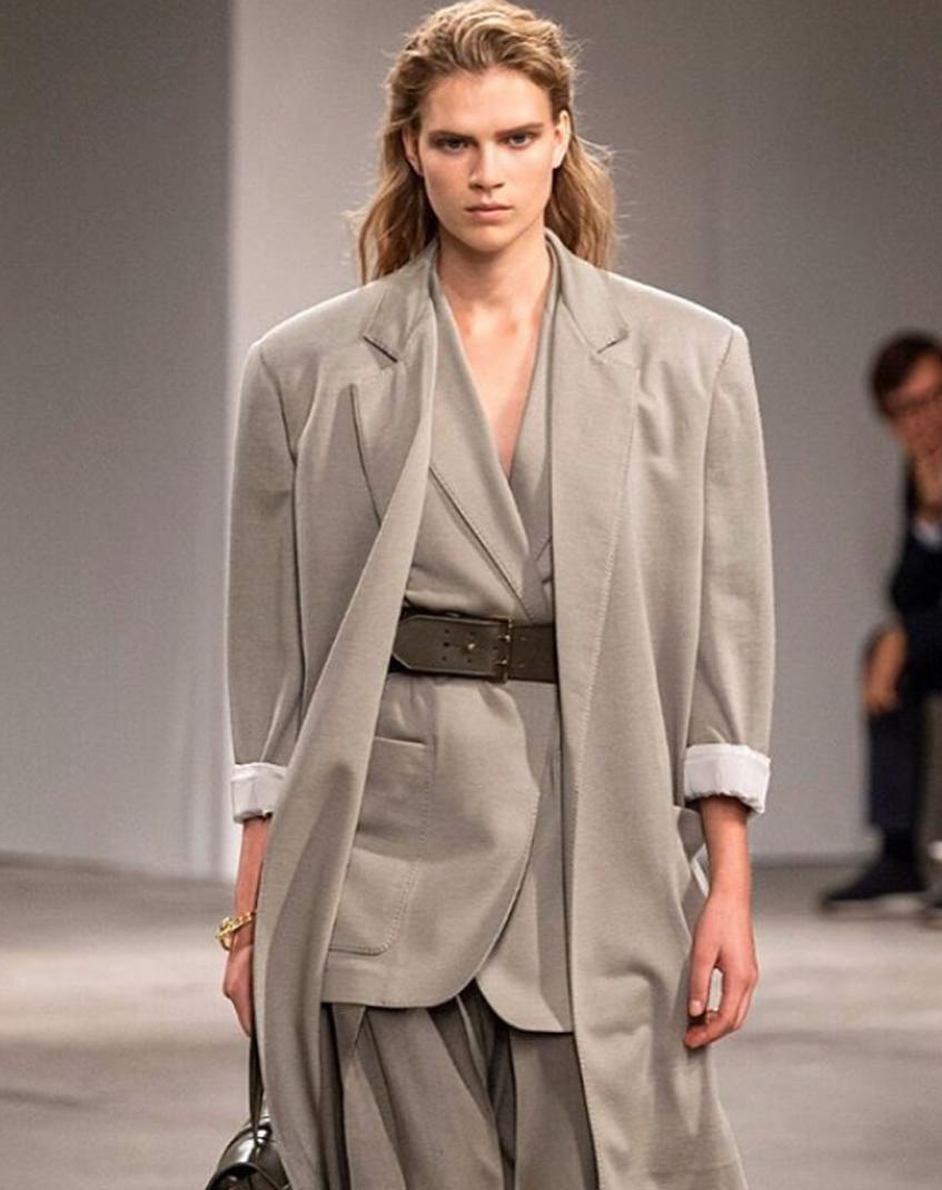 пиджак в стиле 80-х