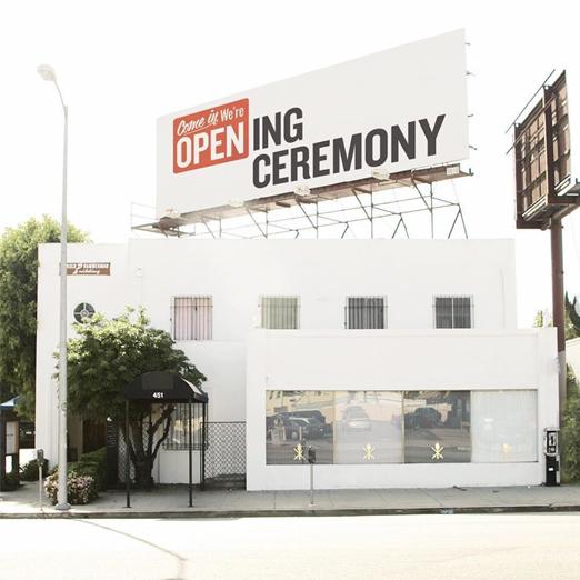 магазины opening ceremony закрываются