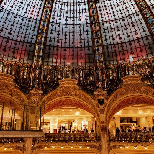 Доставка из Galeries Lafayette