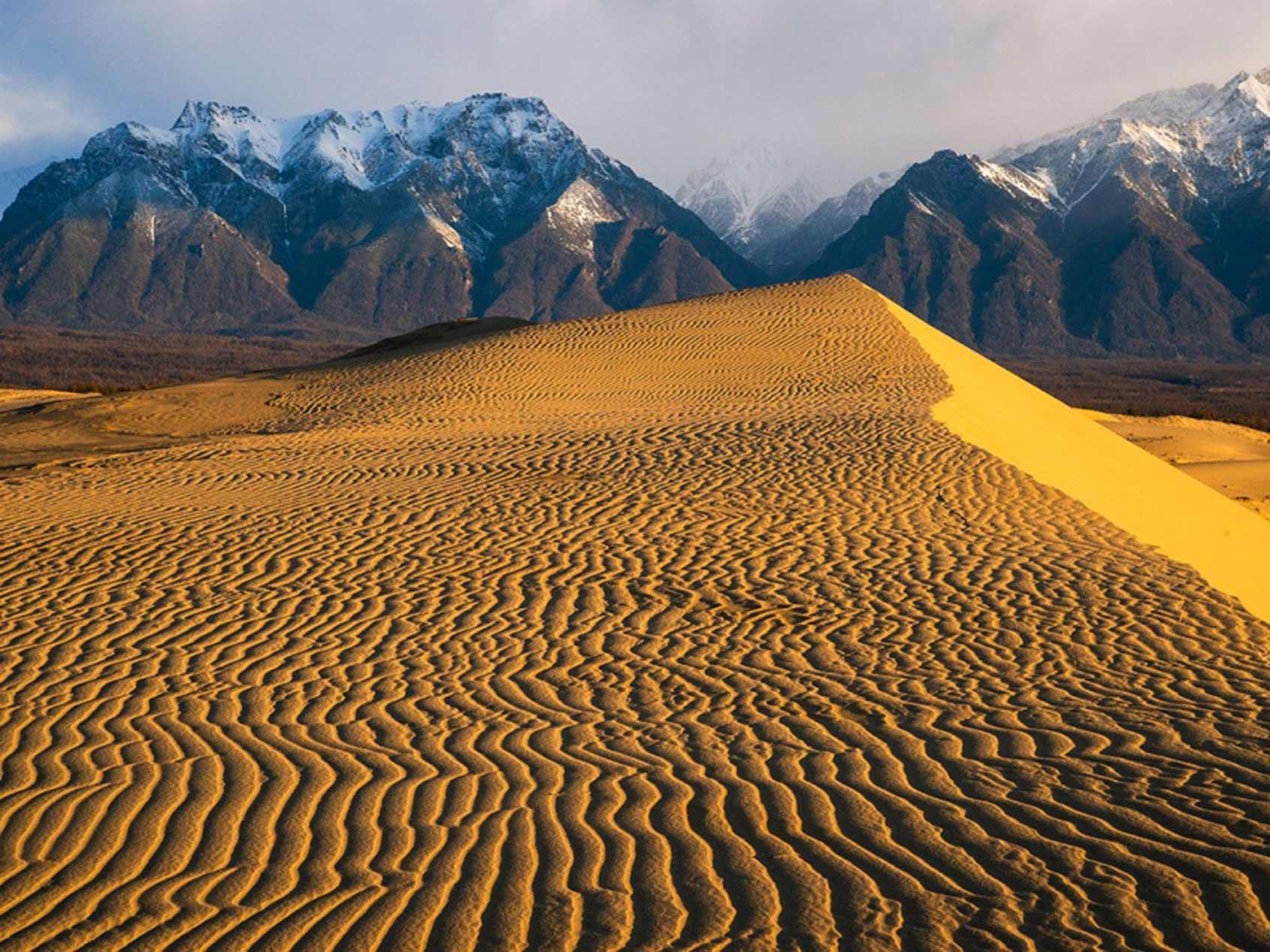 Чарские пески что посмотреть