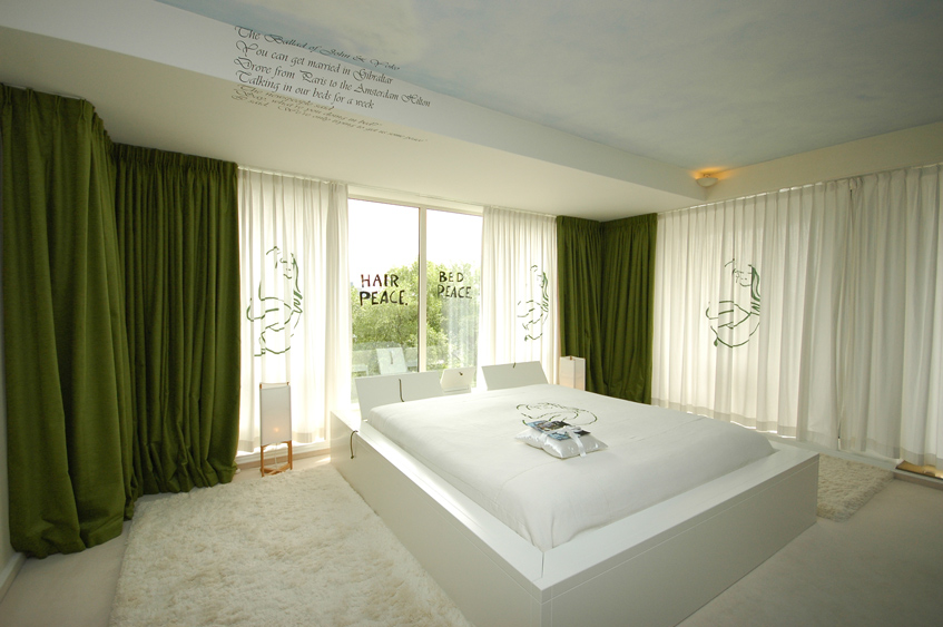 комната Джона Леннона и Йоко Оно
