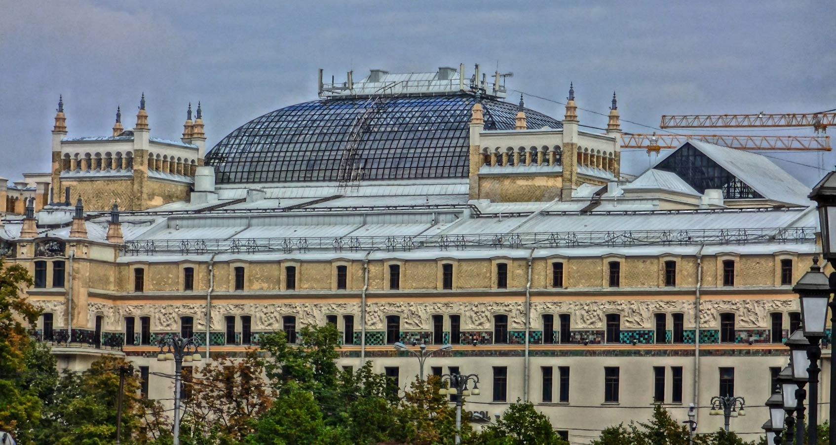московские отели с историей