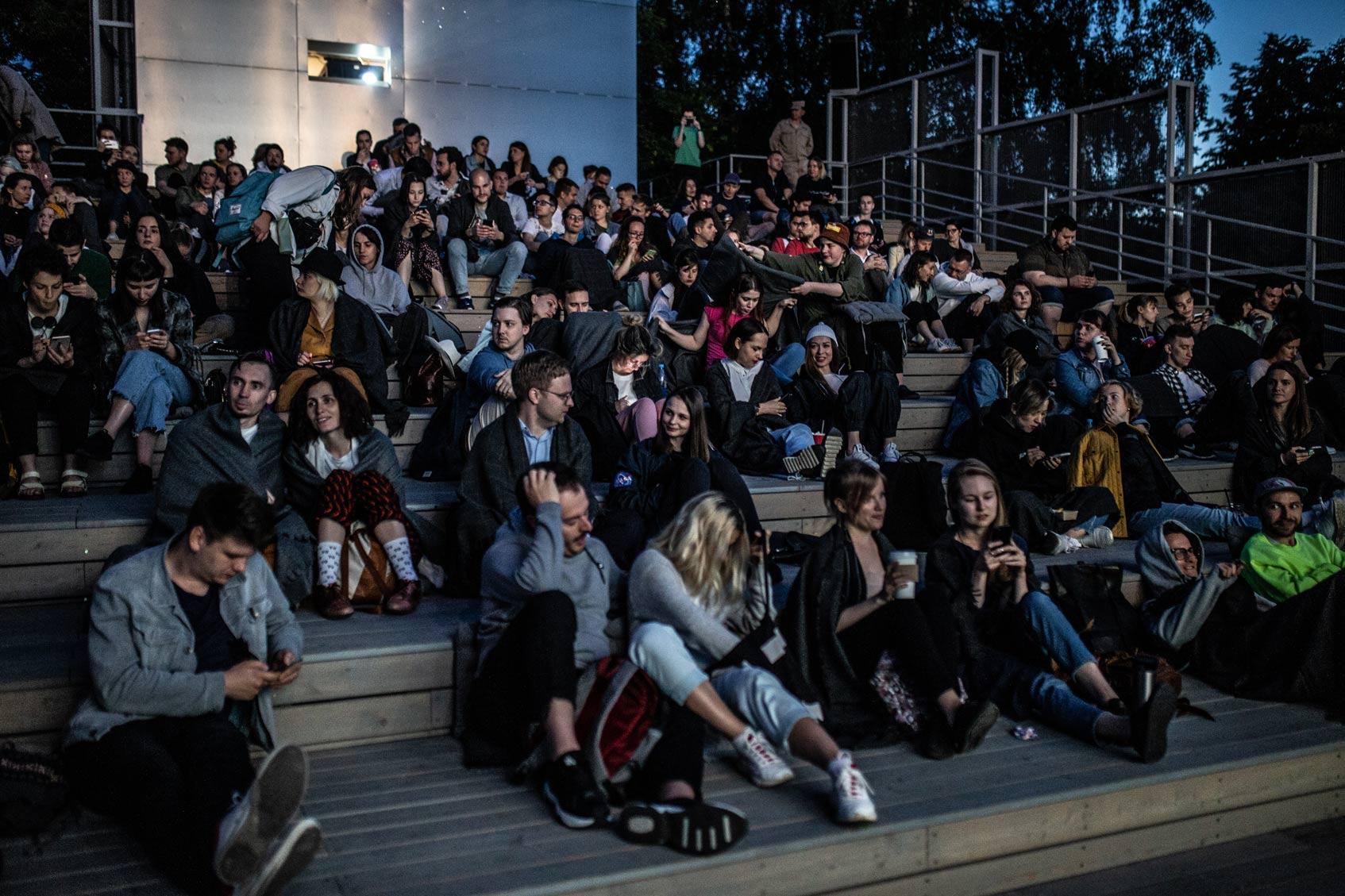 москино кинотеатр под открытым небом парк музеон