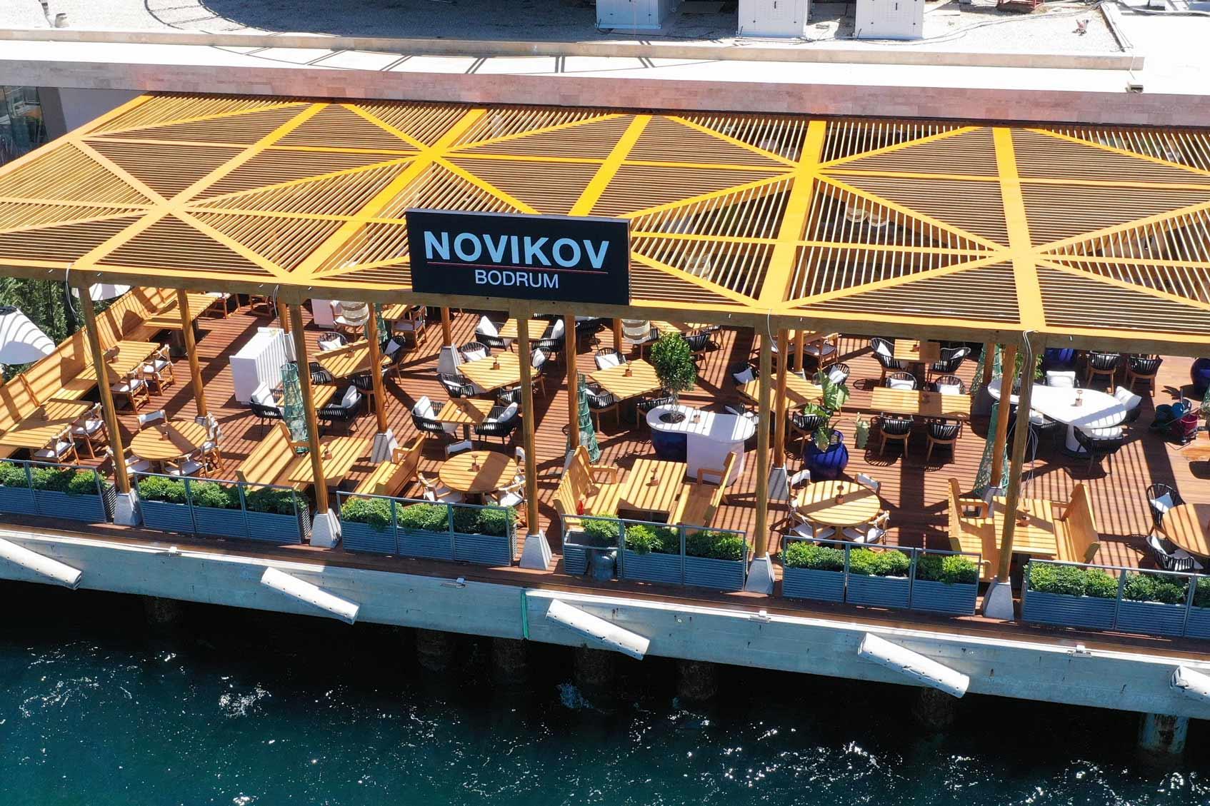 Novikov Bodrum ресторан Аркадия Новикова