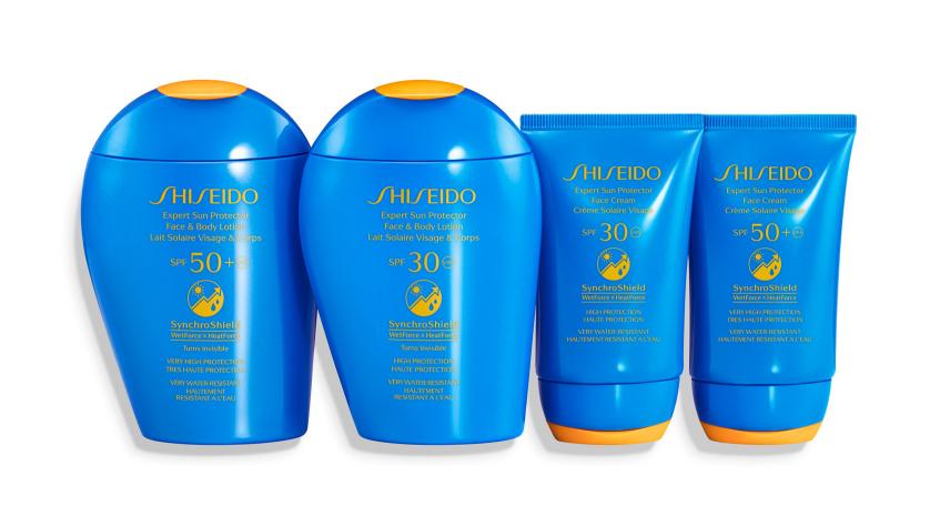 shiseido солнцезащитное средство