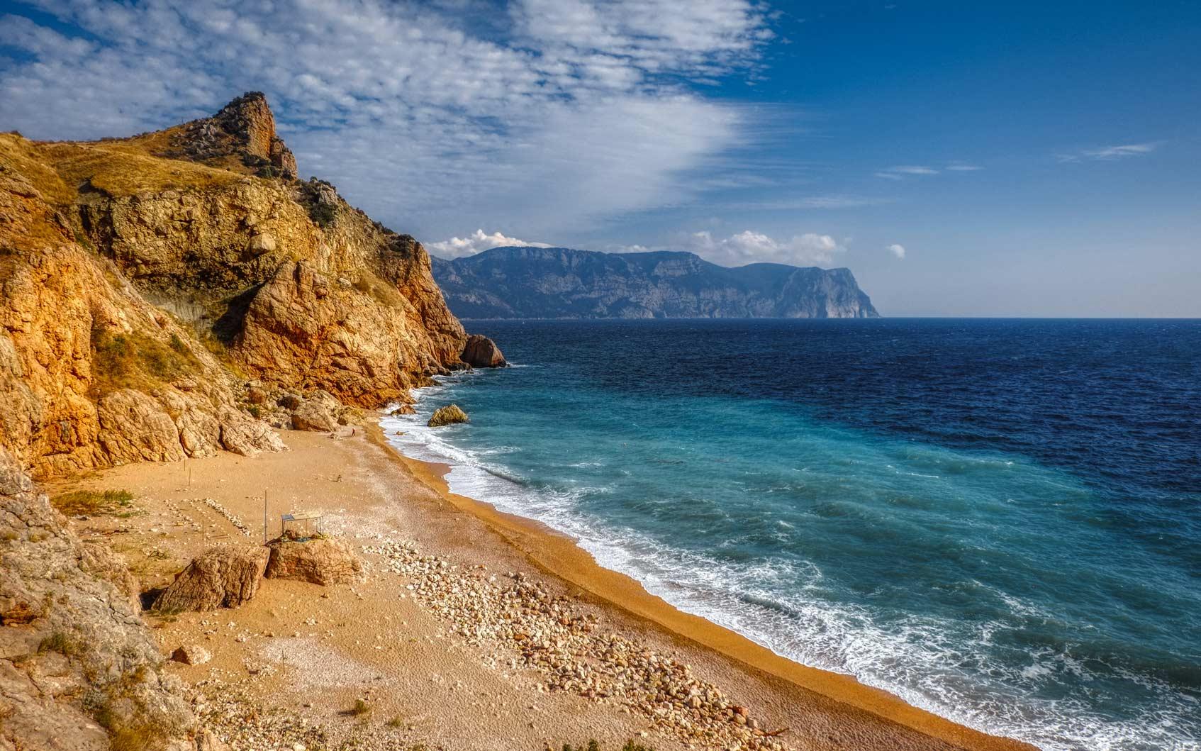 лучший пляж балаклавы
