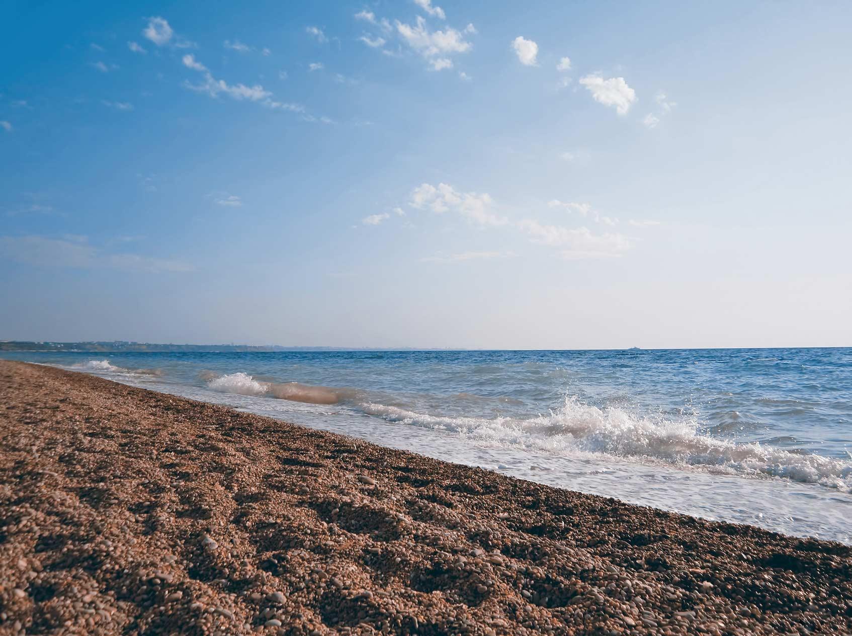 пляжи в любимовке в крыму