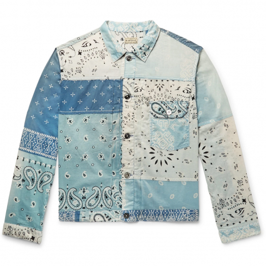 джинсовая куртка kapital