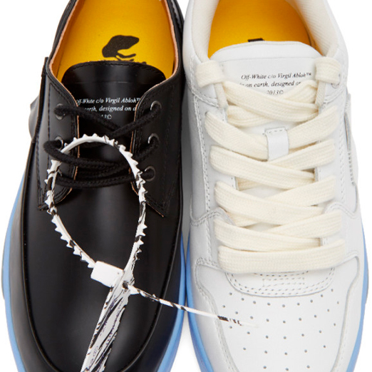 offwhite выпустил пару обуви разных моделей