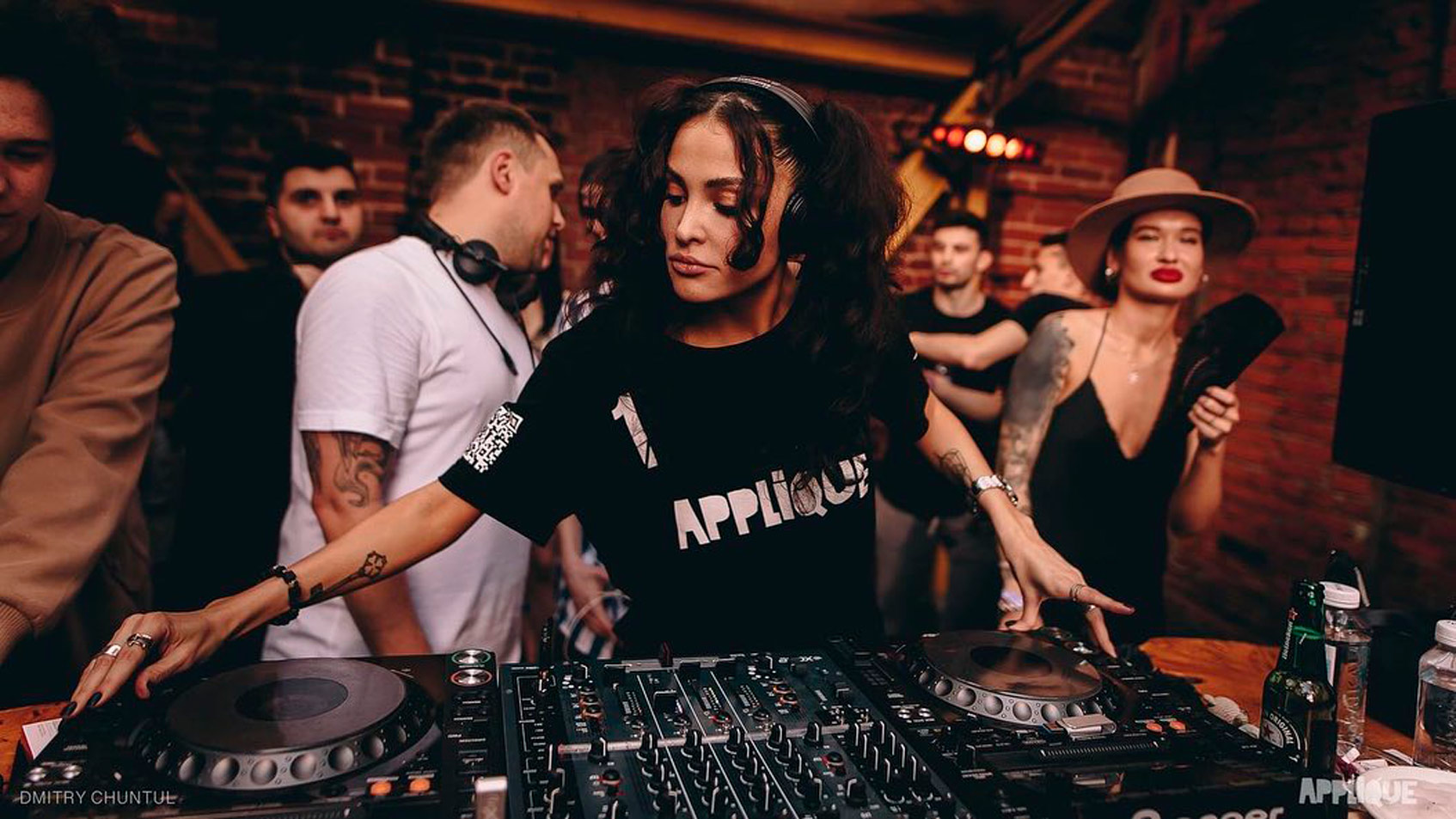 вечеринки applique records