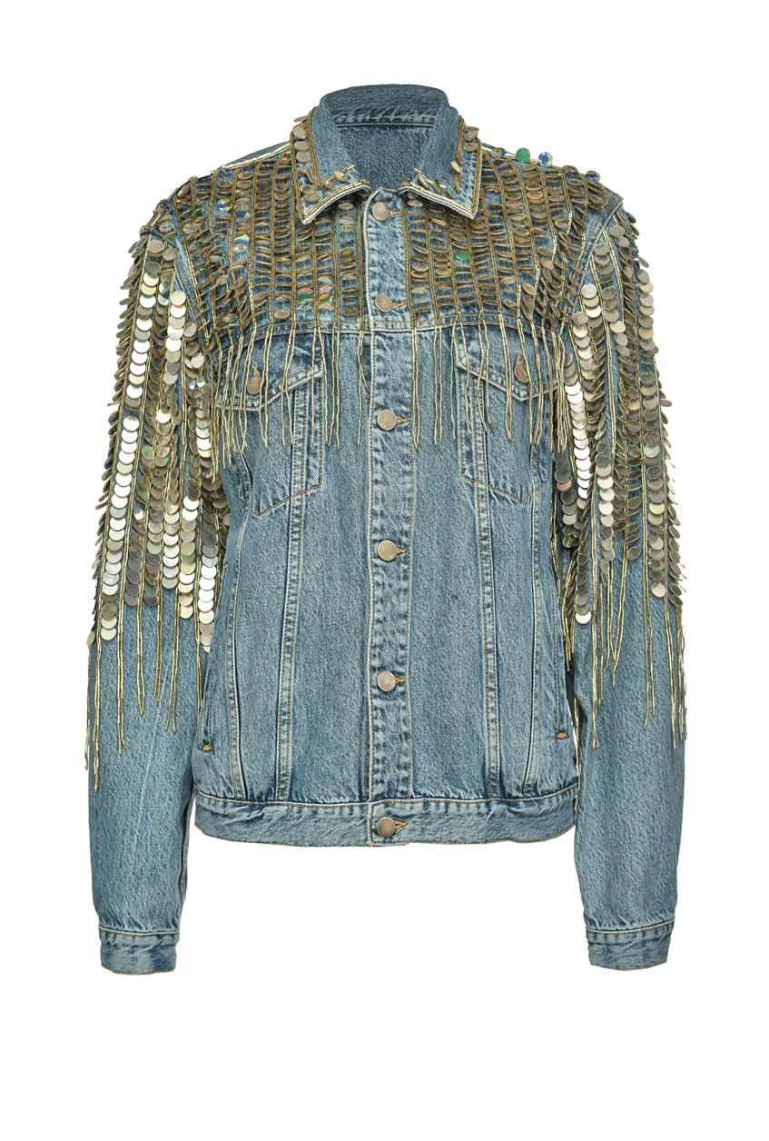 куртка pinko с пайетками