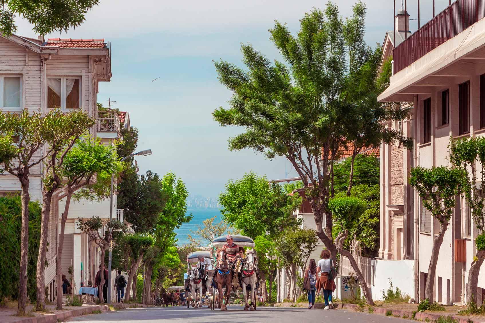 Принцевы острова или Кызыл Адалар, Бююкада, Стамбул, Турция.