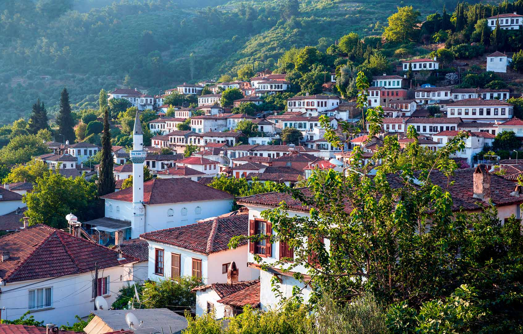 Деревня Шириндже, провинция Измир