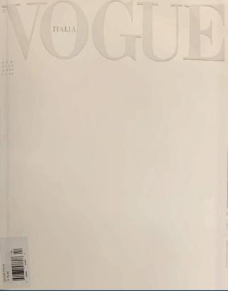 Vogue Italy апрель 2020