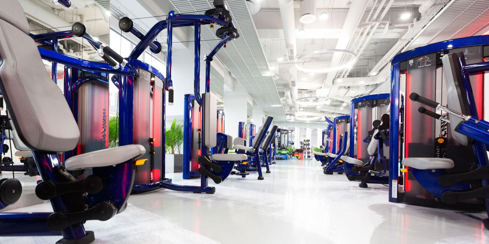 фитнес-клуб Тимати