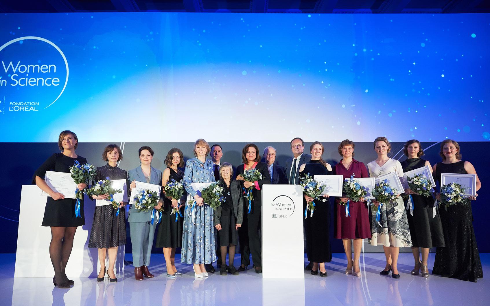 Международная программа For Women in Science loreal