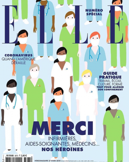 Elle март 2020