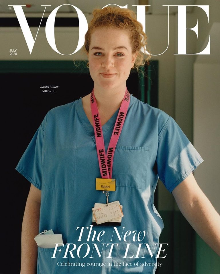 Vogue UK июль 2020