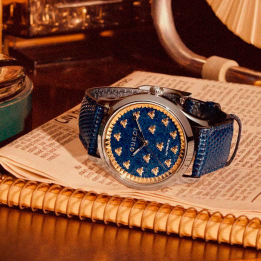 gucci выпустил часовую коллекцию