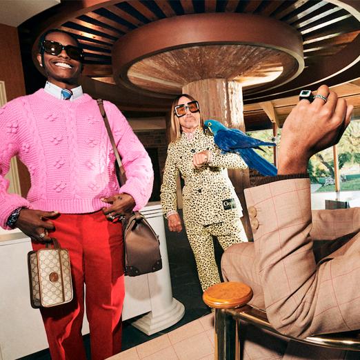 A$AP Rocky, Игги Поп и Tyler, The Creator снялись в новой кампании Gucci